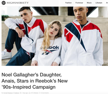 High Snobiety copy