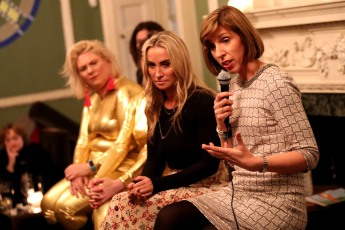 Meg Matthews attends INSERT EVENT TITLE held at House of Barnabus in London, UK on the 23rd January 2018. An evening discussing the menopause by @SYLKnatural with Meg Mathews, comedy duo the Scummy Mummies and Louise Newson, aka The Menopause Doctor. Photo: Alex Huckle/SilverHub 0208 004 5359 Sales@silverhubmedia.com