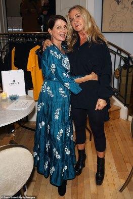 Meg Mathews and Sadie Frost enjoy a mini Primrose Hill reunion